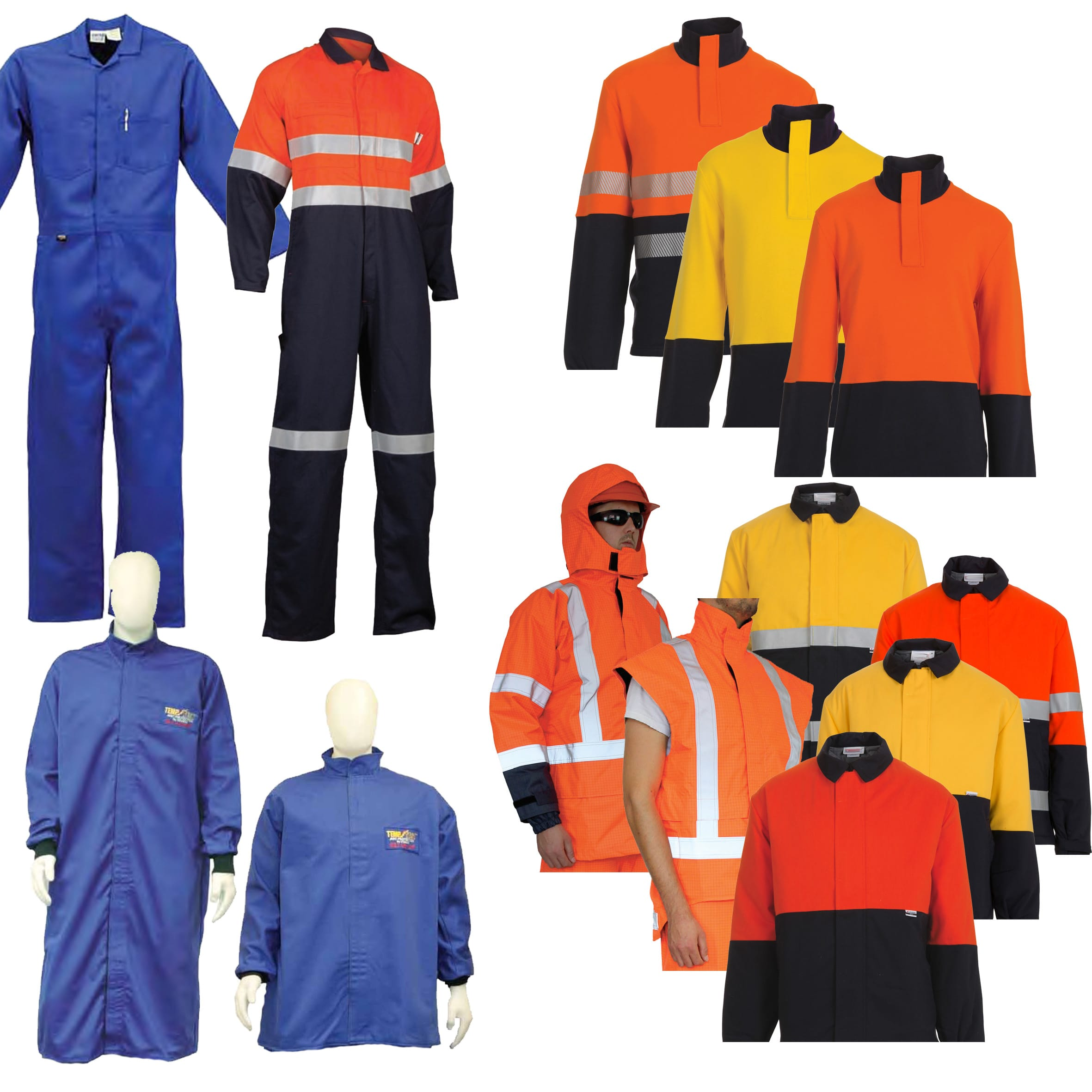 Arc Flash Overalls - Coats - Jackets -Jumpers