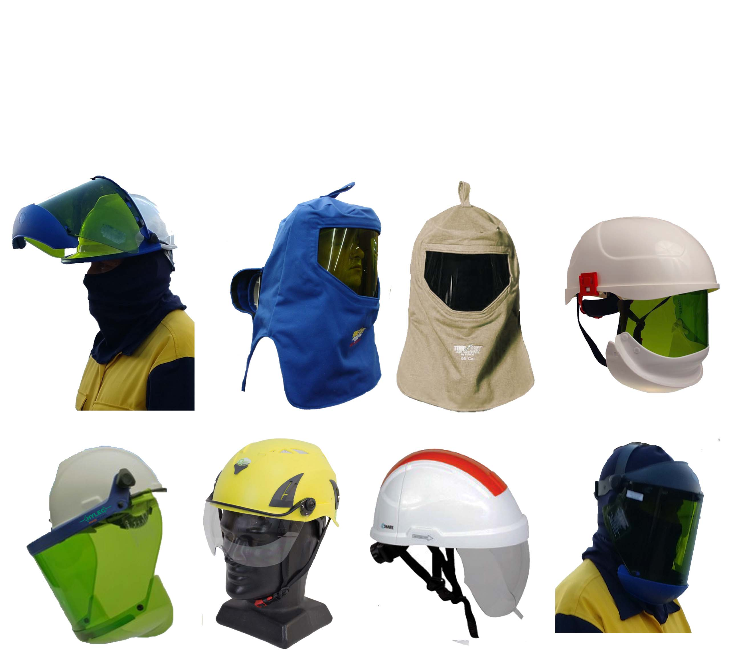 Arc Flash Face Shields & Hoods