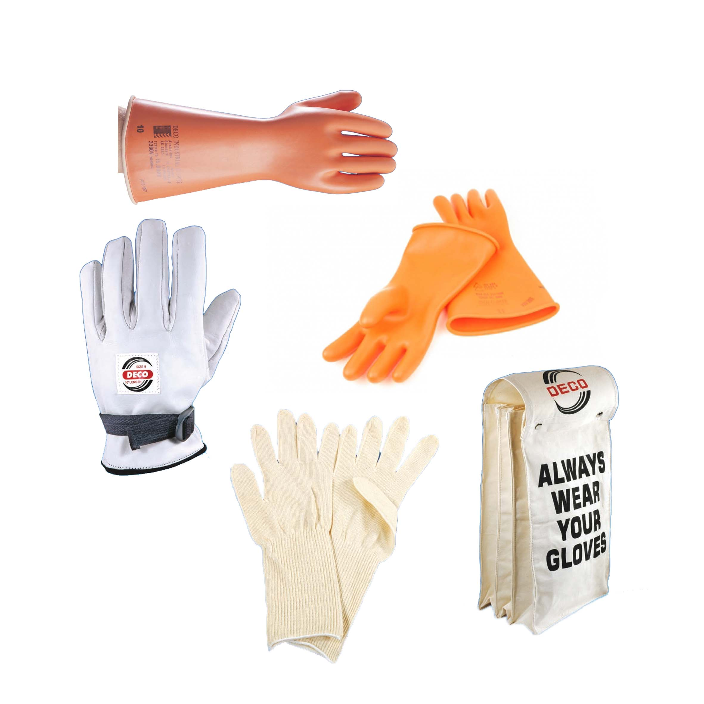 Deco Electrical Gloves  Australian Made