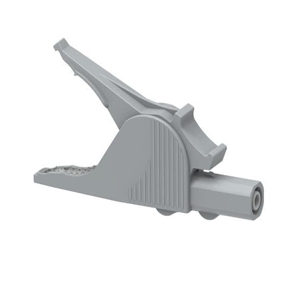 5066-IEC-G Green Safety crocodile clip 36A