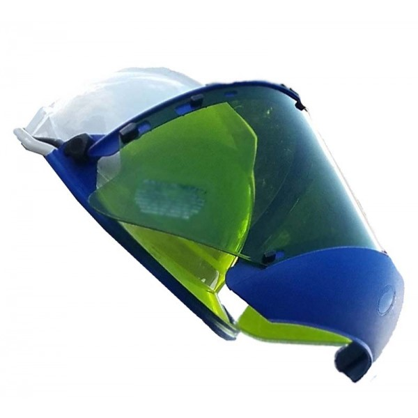 20 Cal Standard Face Shield w Chin Cup