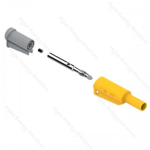 1066-J 4mm Safety Banana Plug Yellow