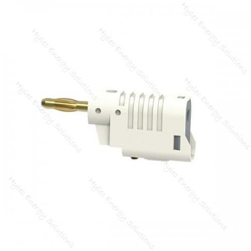 1086-Bc 4mm Banana Plug M3 screw connexion White