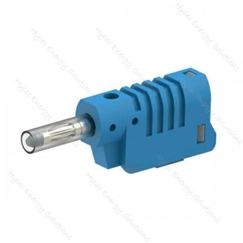 1086-Bl 4mm Banana Plug M3 screw connexion Blue