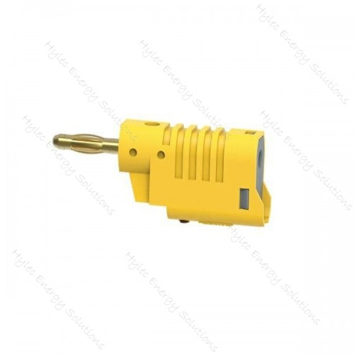 1086-J 4mm Banana Plug M3 screw connexion Yellow