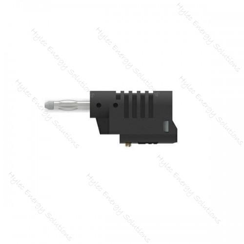 1086-N 4mm Banana Plug M3 screw connexion Black