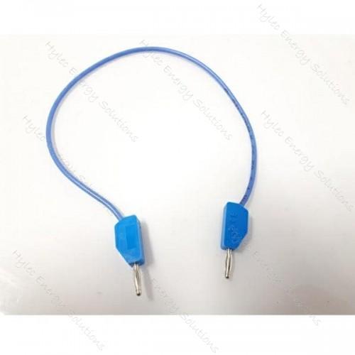 226-25-Bl 2mm Stackable Banana Plug 25cm Blue