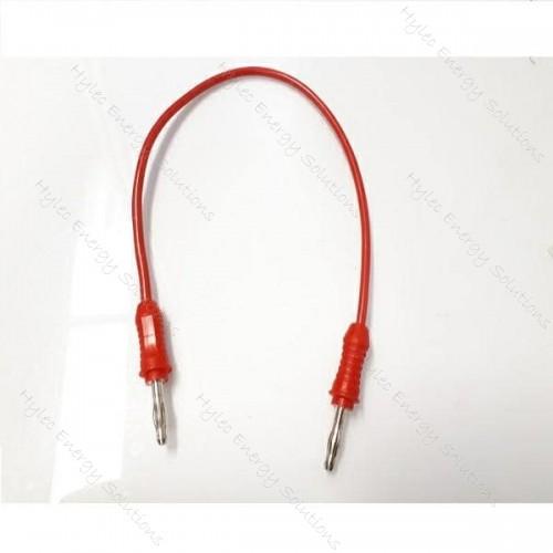 2817-25R 25cm Straight Banana plug – Red