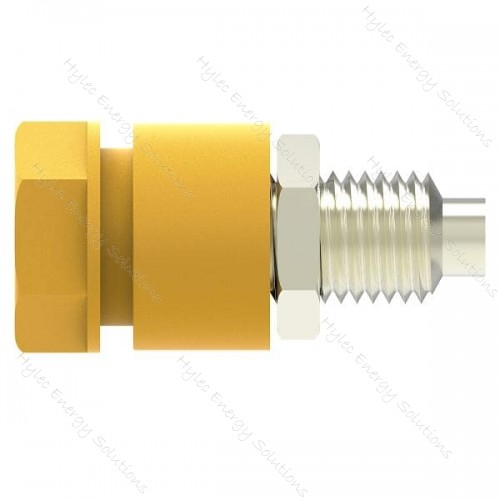 3230-C-J Yellow 4mm Socket /2mm hole terminal-M6