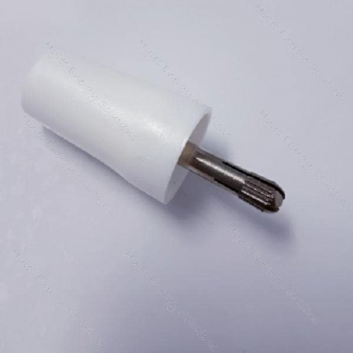3300-IEC-BC White 4mm adapting socket with expansion