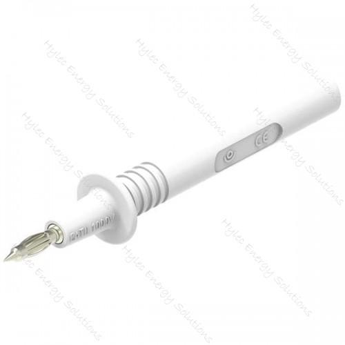 404-IEC-Bc White 4mm Safety Test Probe