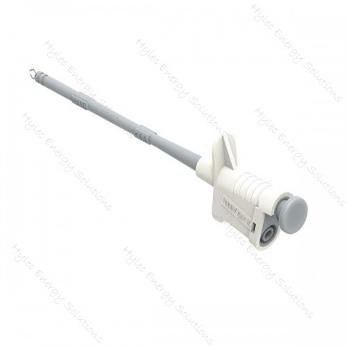 6005-IEC-Bc White Flexible Test Clip with Clamps