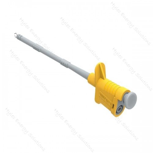 6005-IEC-J Yellow Flexible Test Clip with Clamps