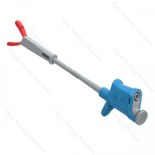 6007-IEC-Bl Blue Flexible Test Clip - Crocodile clip