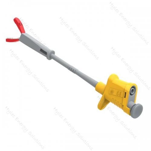 6007-IEC-J Yellow Flexible Test Clip - Crocodile clip