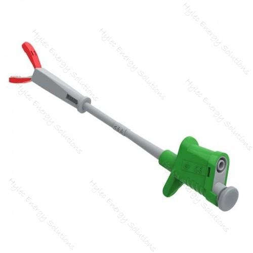 6007-IEC-V Green Flexible Test Clip - Crocodile clip