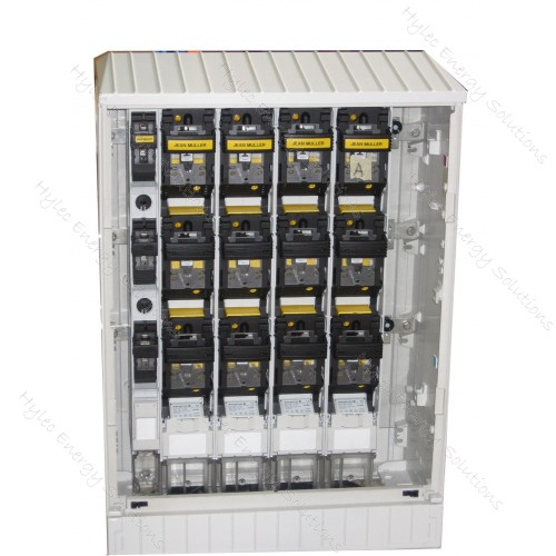 Cabinet 5 Slot F/P Empty KVS0-10/SV/BL