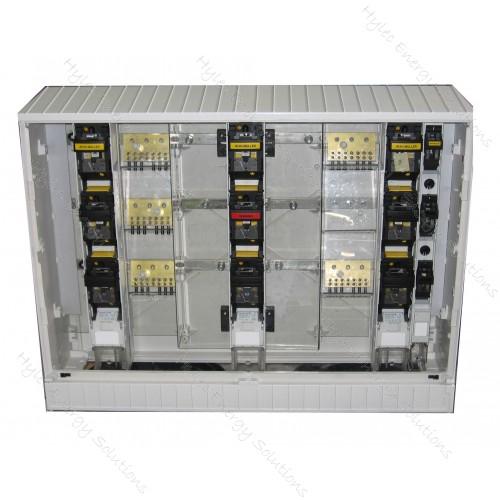 Cabinet 7 Slot F/P Empty KVS1-10/SVS/BL