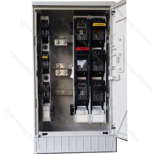 Cabinet 3/4Slot F/P KVS00-10/SVV/BL