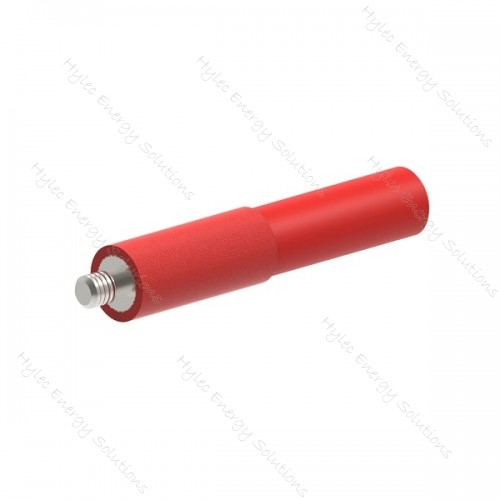 AdaSpM4-R 4mm Adapter Test point to screw - Red