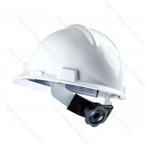 FR Hard Hat white with quick adjust knob