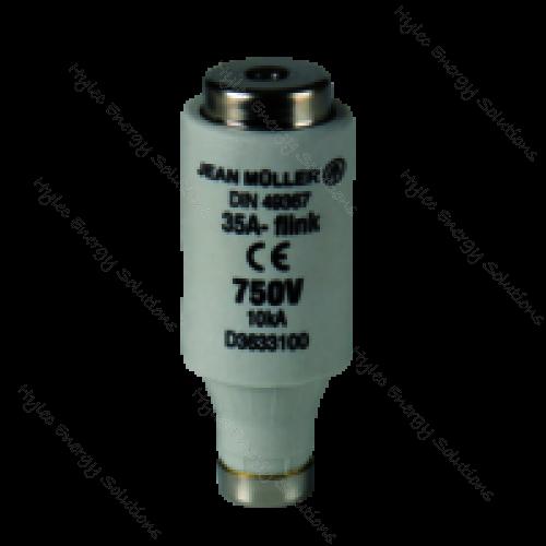 D3 Bottle Fuse Link  63A 750V D3/63/750
