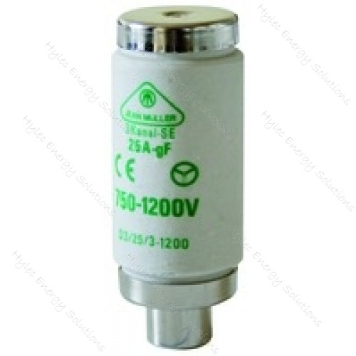 D3 Bottle Fuse Link D3/6/3 6A 1200V