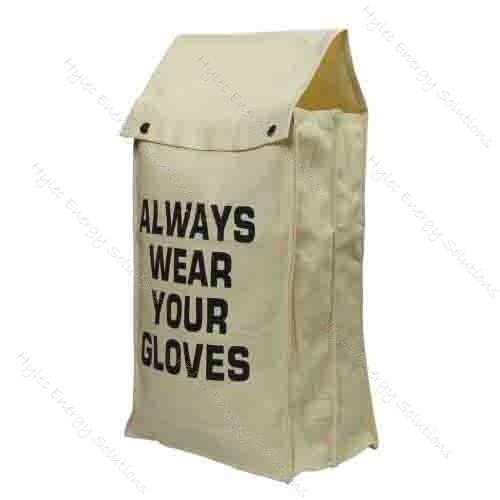 Triple Compartment Canvas Glove Bag