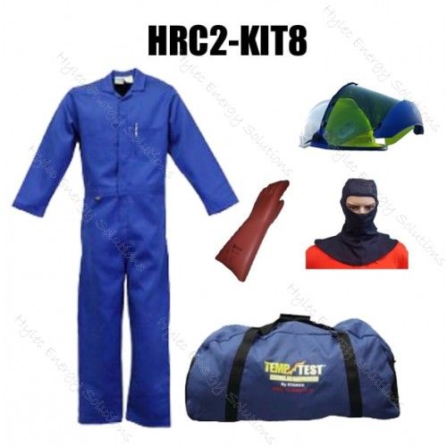Stanco HRC2 Arc Flash 12.4 cal Kit 8