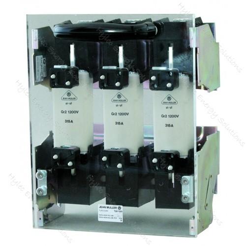 NH1 Baseplate mount 250A 1200V 3P #