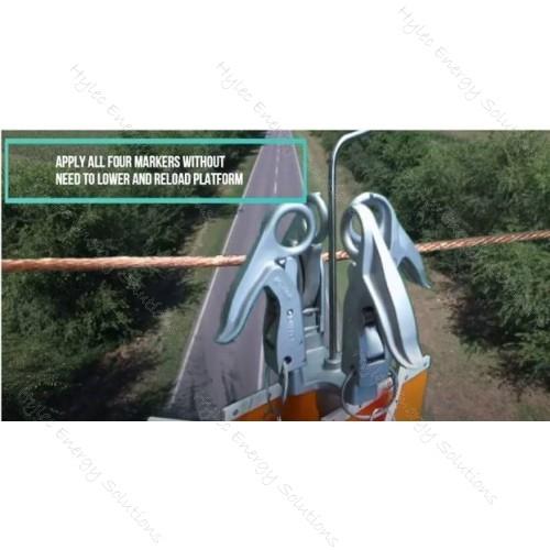 MT330 Snap onClamp & Warning Marker Flag