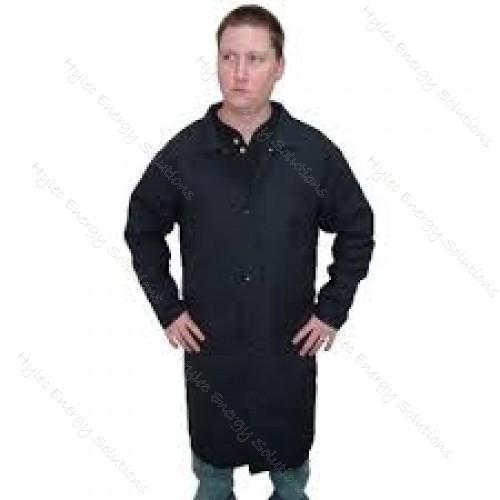 "4.8 cal HRC1 45"" Navy Lab Coat Size M"