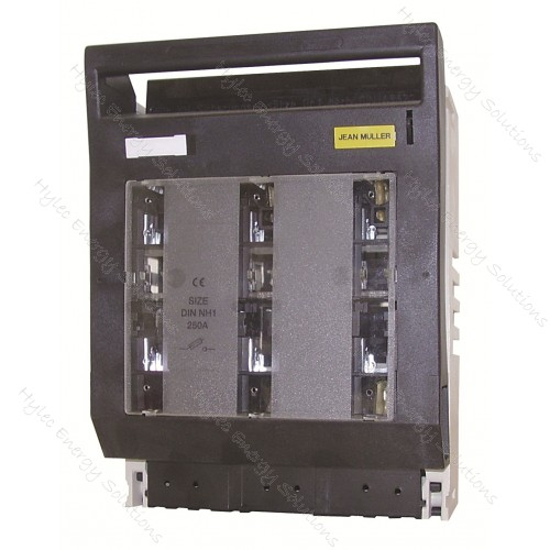 3P Fuse Switch to NH1 250A Din Fuse #