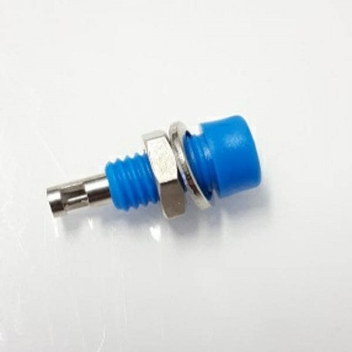 224-M5-C-Bl 2mm Insulated Socket Blue