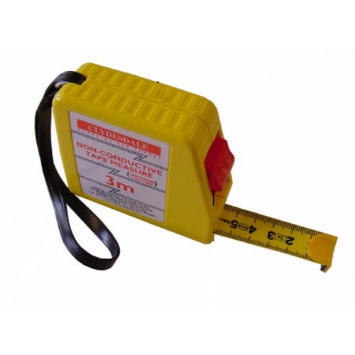 Tape Measure Non Conductive 3m