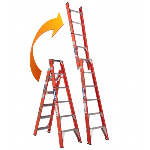 2.4 Step - 4.2 MTR Dual Purpose Ladder