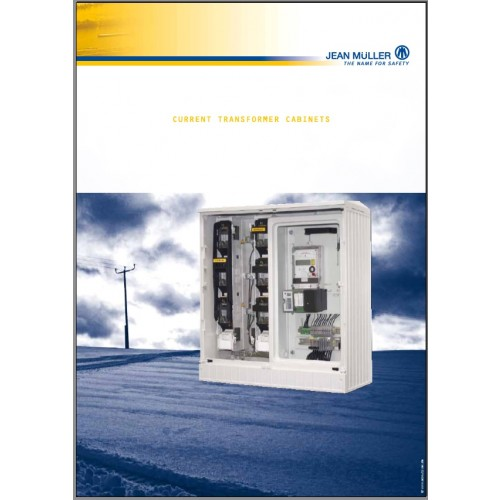 CATALOGUE - Jean Muller - 03 chapter _MWS_ Current Transformer Cabinets Catalogue _2009