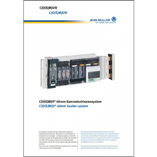 CATALOGUE - Jean Muller Cosmo Busbar System 2015 Chapter 5