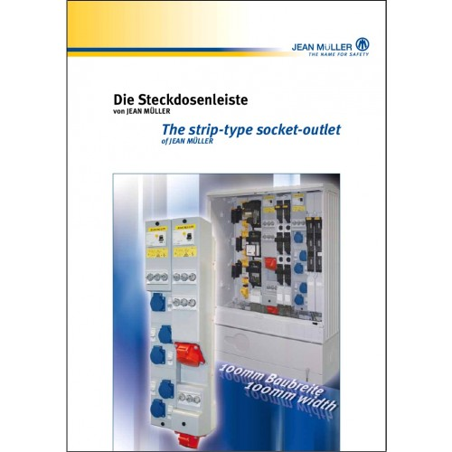 CATALOGUE - Jean Muller Strip Type Socket Outlet Chapter 8