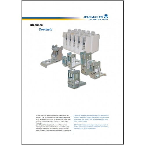 CATALOGUE - Jean Muller Terminals Components 2015 Chapter 6