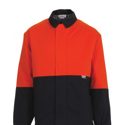 8.7 cal Jacket Navy/Orange Size XL