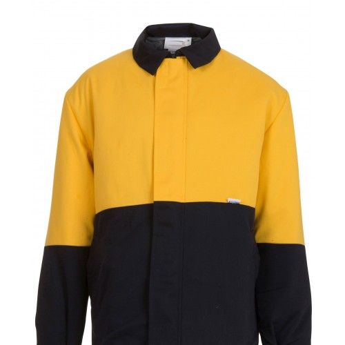 8.7 cal Jacket Navy/Yellow Size XL