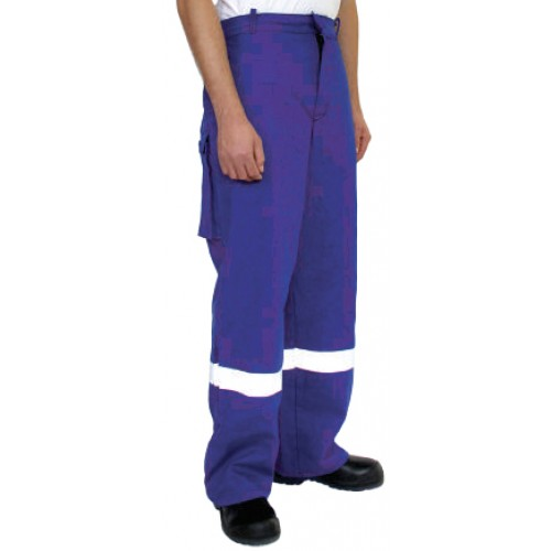 Trousers Banwear FR Belt Loop Blue XL