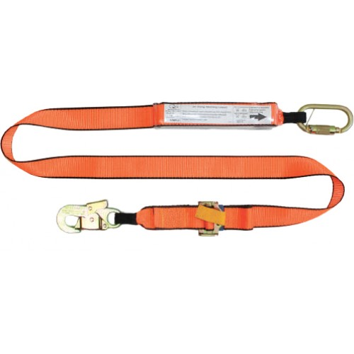 Lanyard adjustable single leg 1 car and singlehook