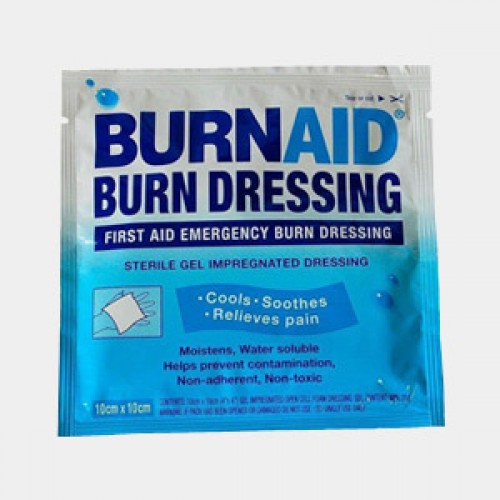 Burnaid Burn Dressing Gel 10cmx10cm