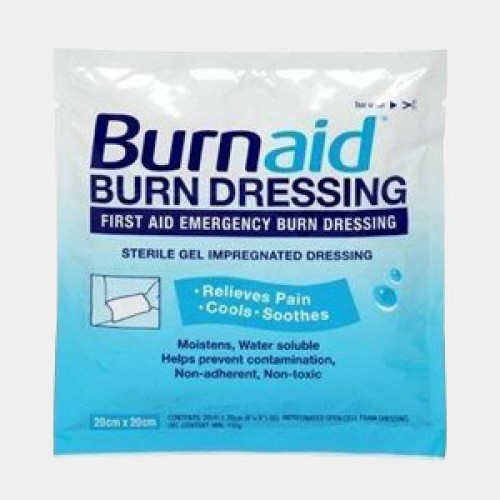 Burnaid Burn Dressing Gel 20cmx20cm