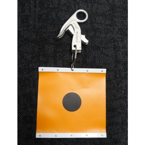 Warning Flag Orange - Clamp not incl