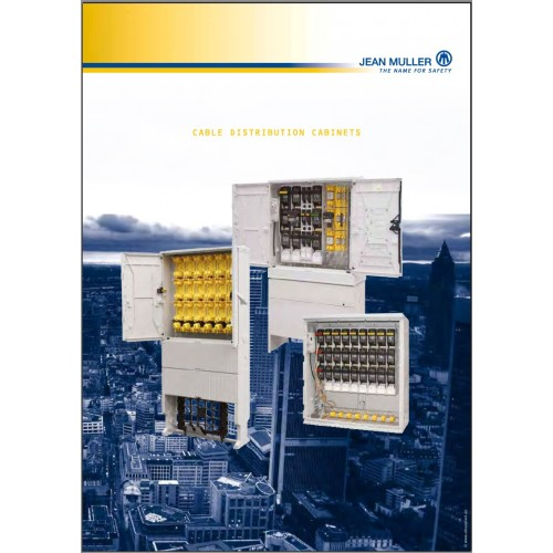 CATALOGUE - Jean Muller - 02 chapter _KVS_ Cable Distribution Cabinets Catalogue _2009