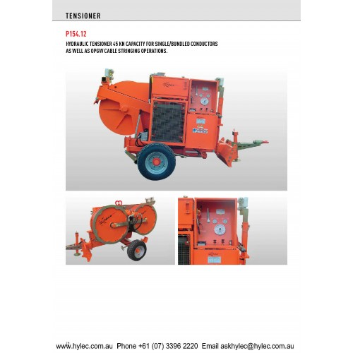Hydraulic Tensioner