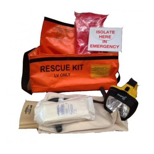 QLV rescue kit  hIgh VIS/MINE untested
